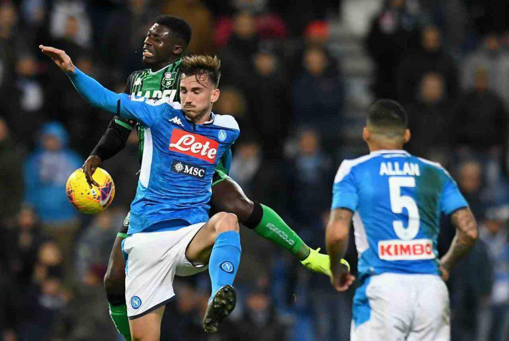 Napoli Sassuolo Serie A