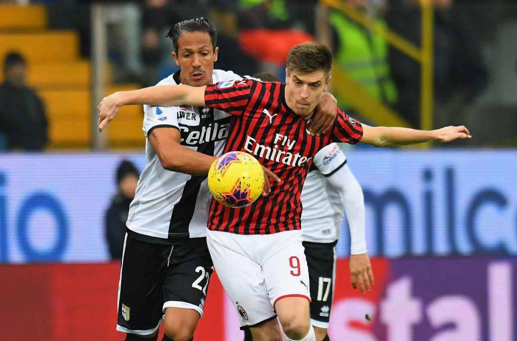 Parma-Milan highlights voti