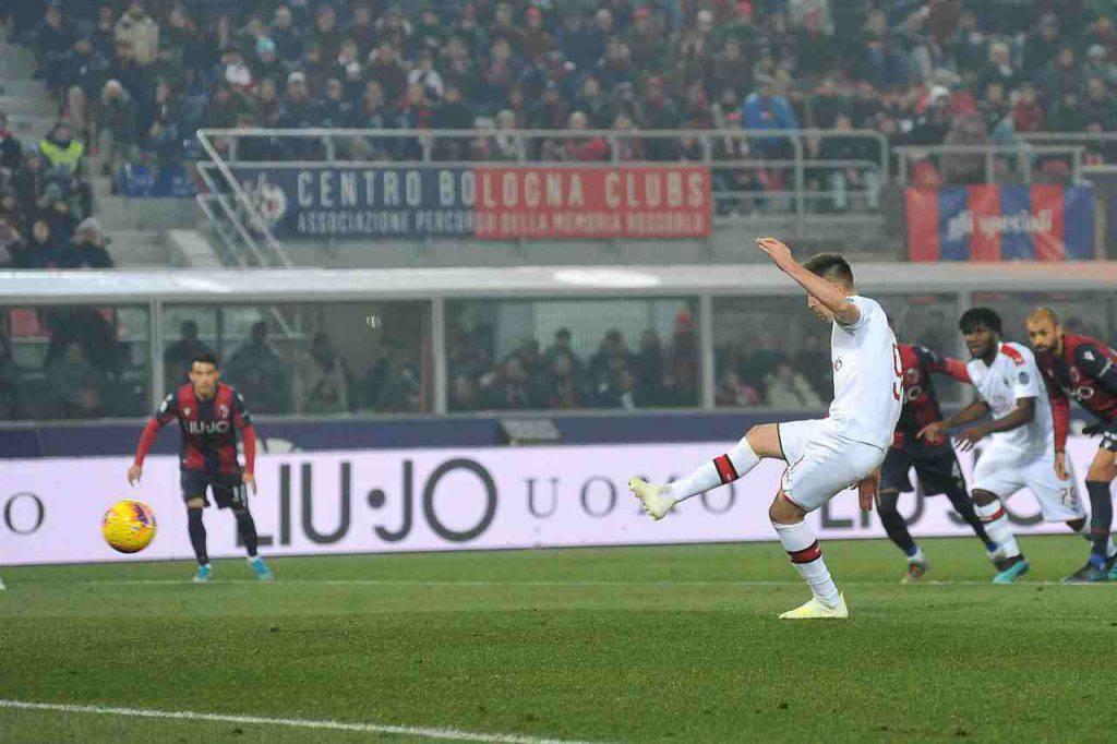 Piatek Milan Bologna
