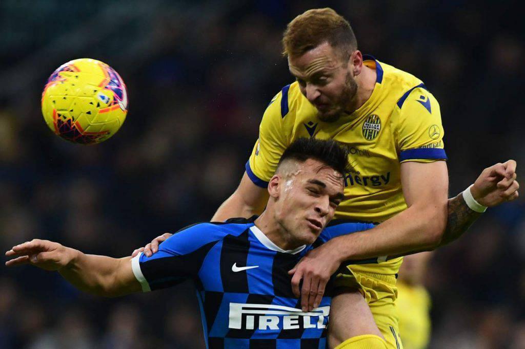 Verona, oggi vertice con l'Inter per parlare di mercato