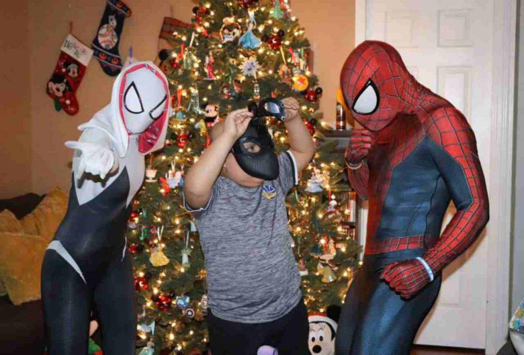 Spiderman bambini ospedale