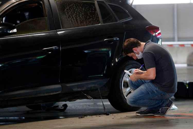 Taglio pneumatici furti