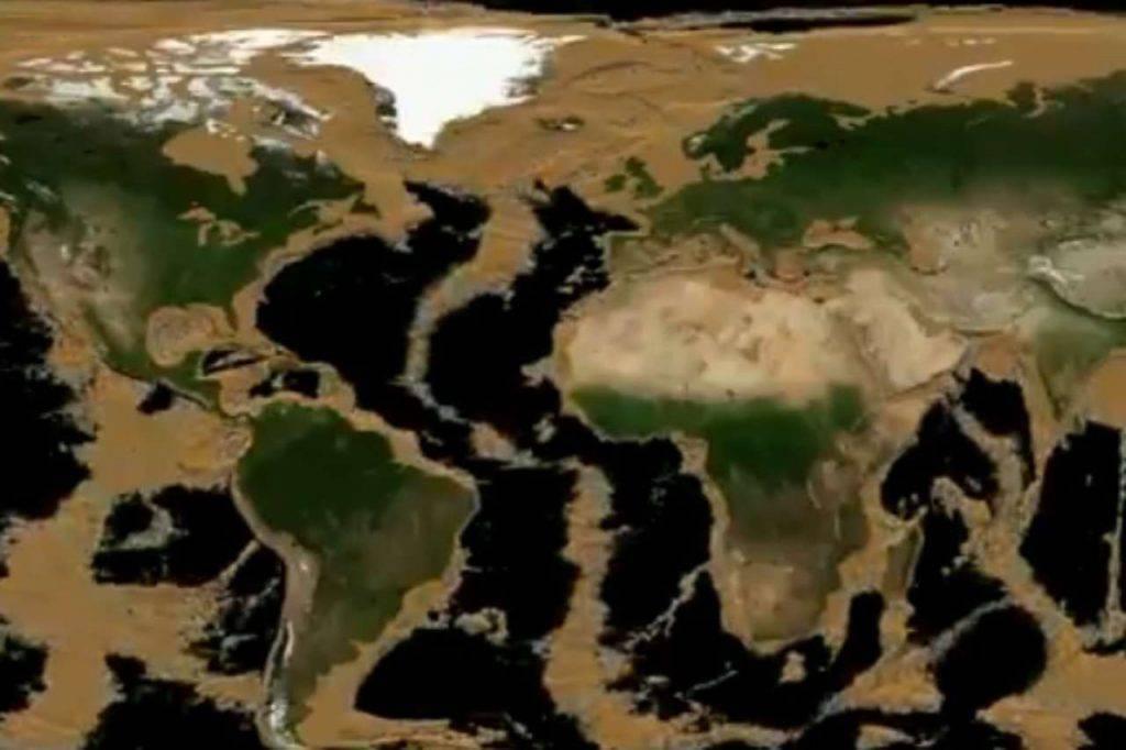 Terra senza oceani