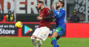 Milan Sassuolo pagelle