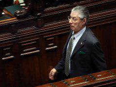 Umberto Bossi graziato Napolitano