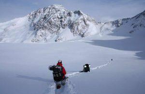 Valle d'Aostra maestro di sci