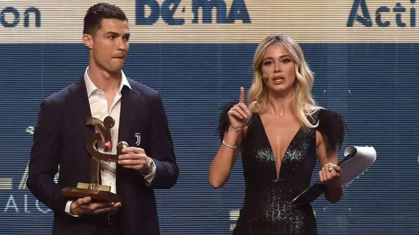 Cristiano Ronaldo Diletta Leotta