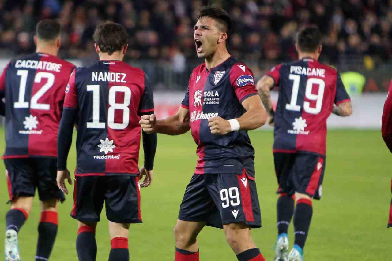 Giovanni Simeone, attaccante Cagliari
