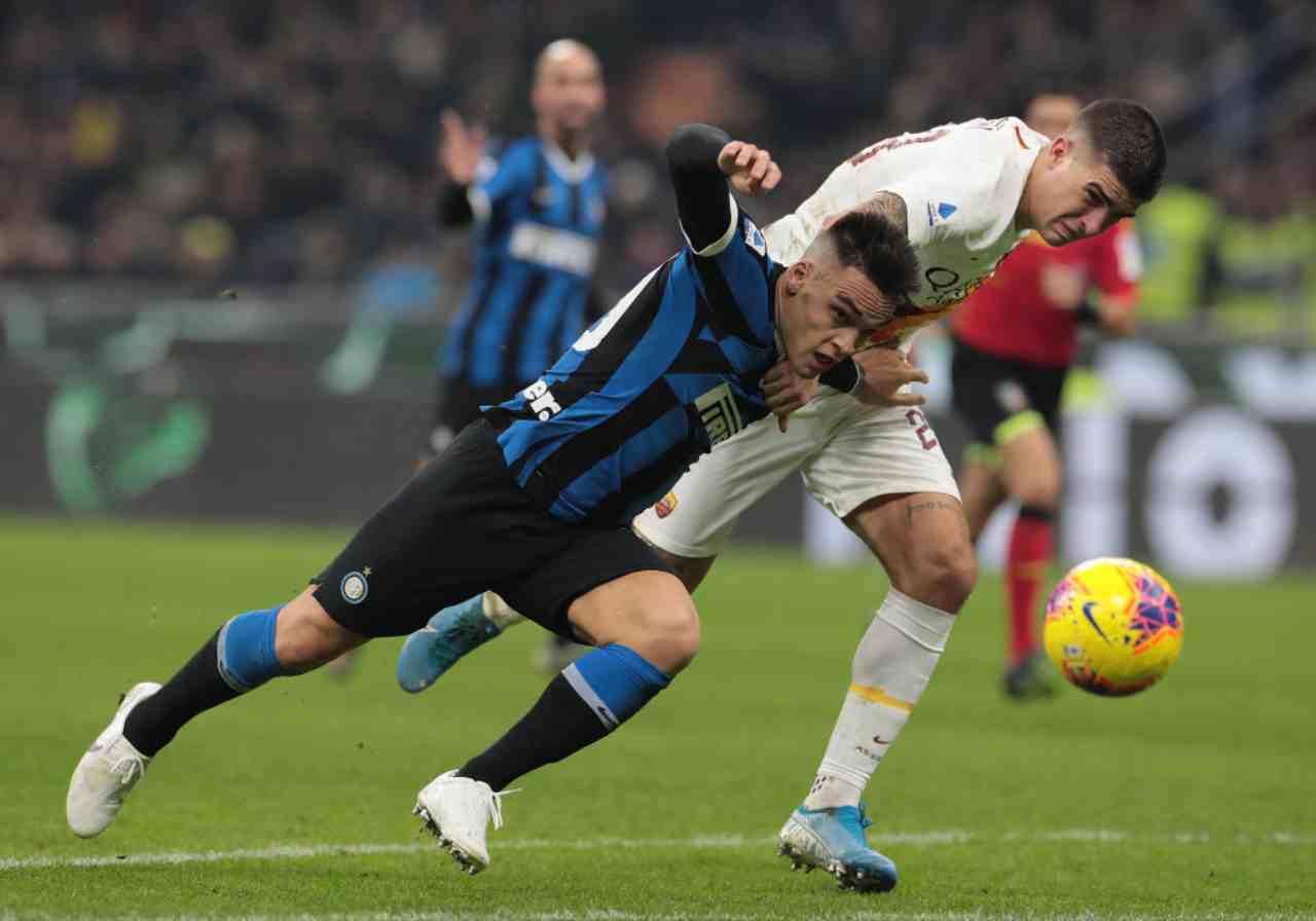 Inter-Roma, Serie A