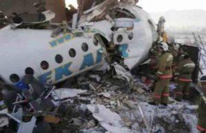 kazakistan tragedia aerea