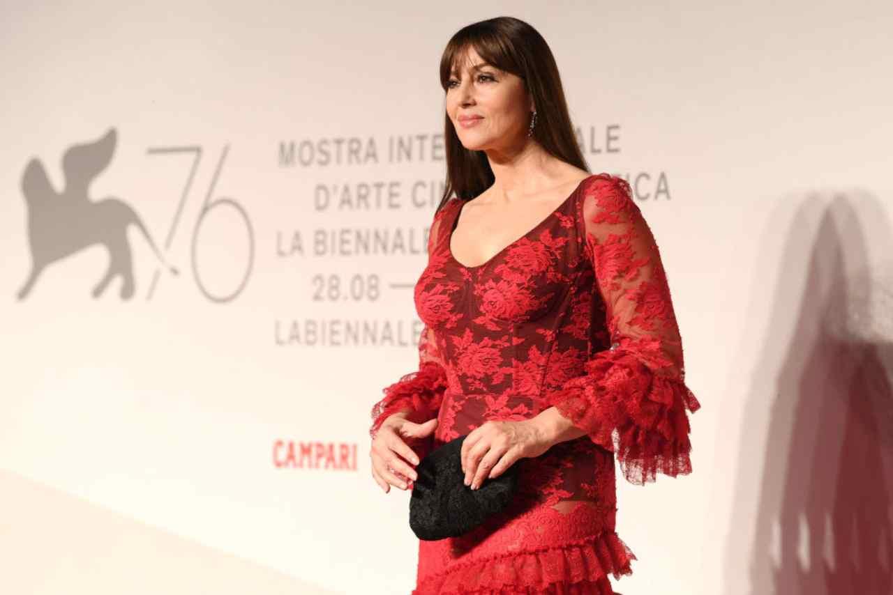 Monica Bellucci, Sanremo