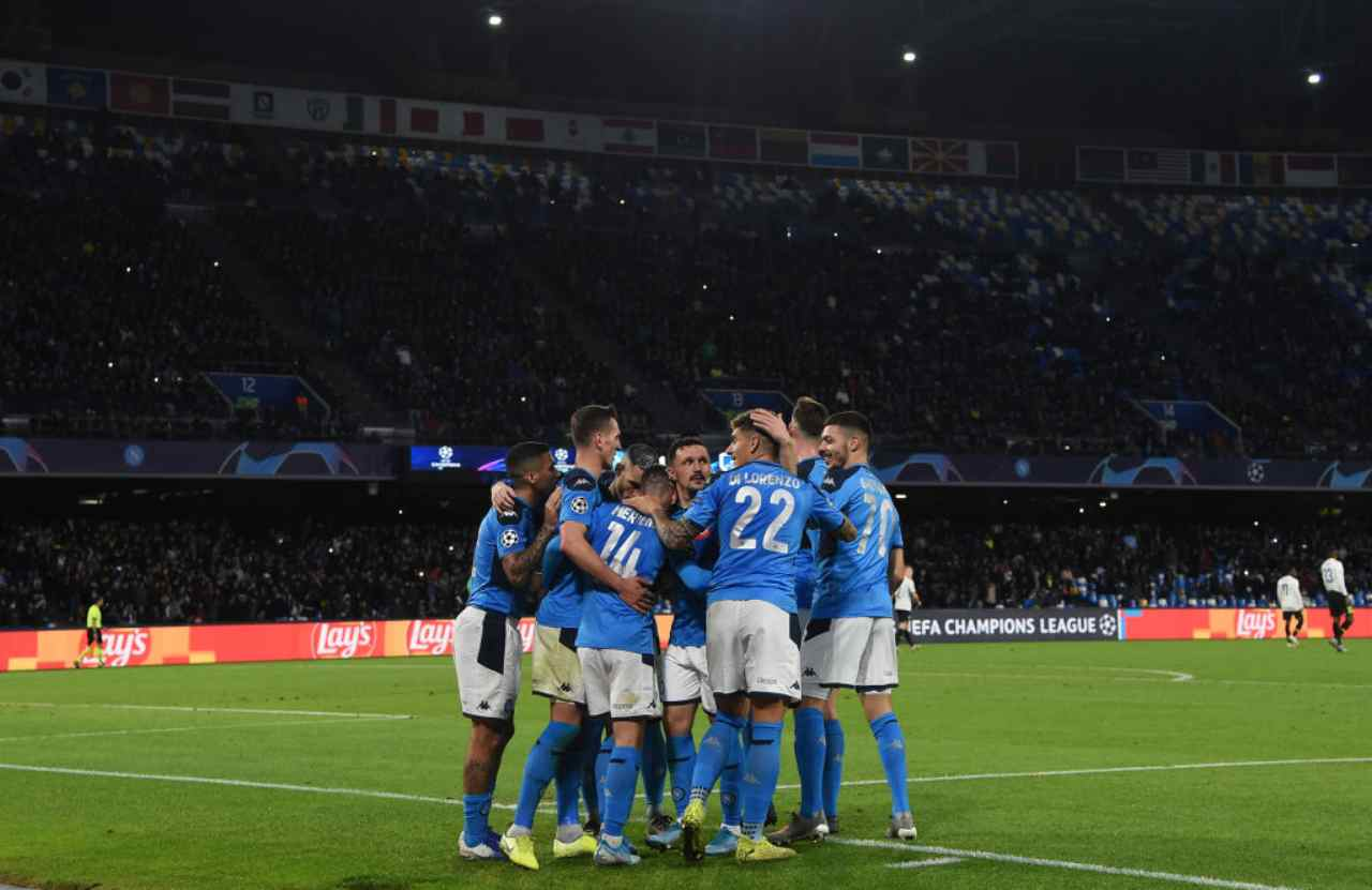 Napoli-Parma, Serie A