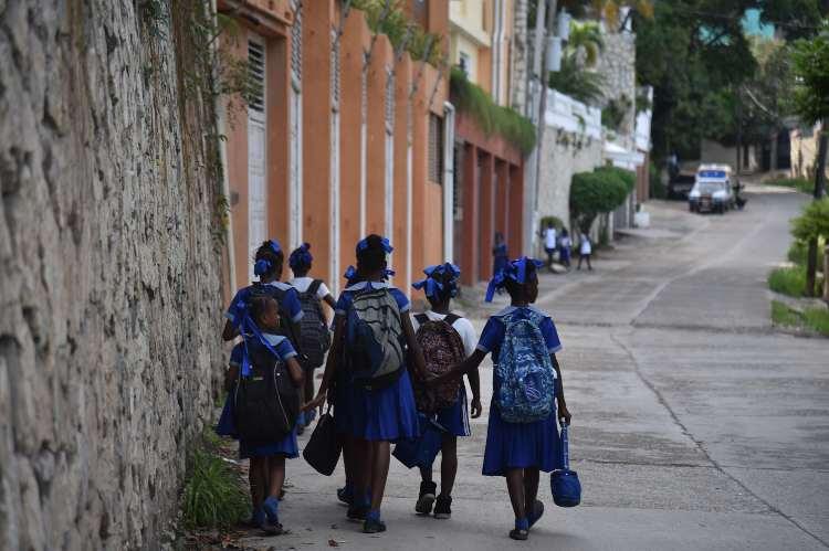 Ragazzine abusate Haiti