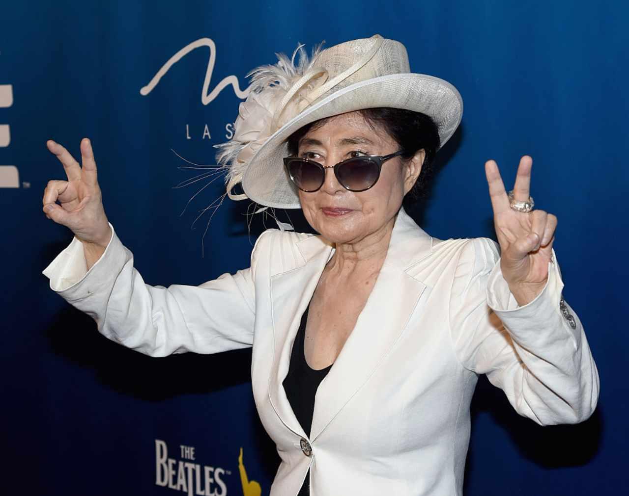 Yoko Ono, moglie di John Lennon