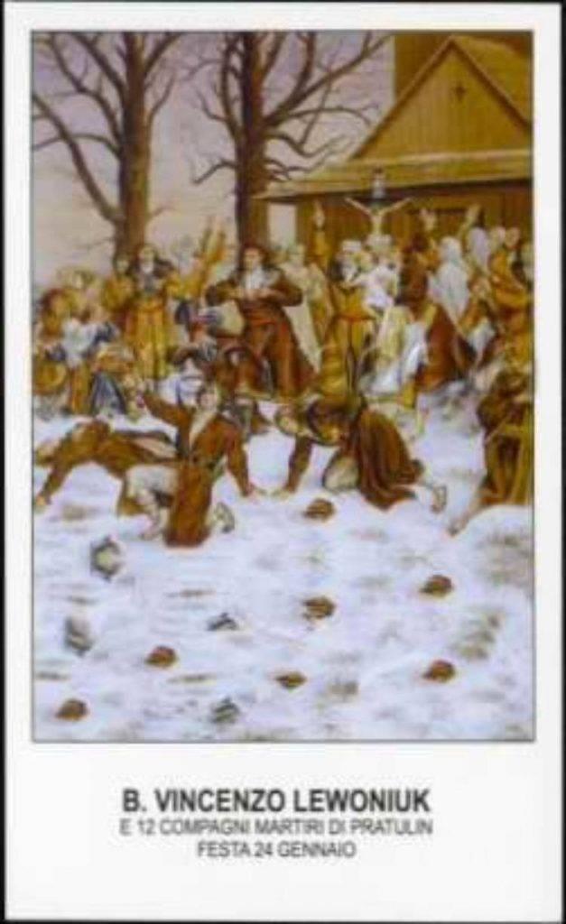 Ricordo Beato Vincenzo e dei 12 martiri