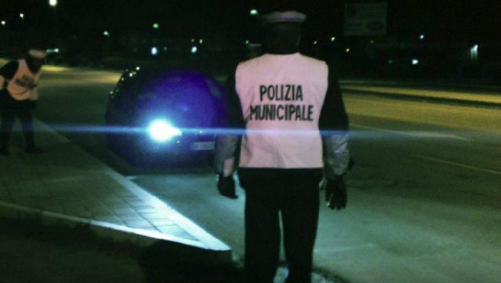 Vigili urbani Torino multa