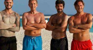 Icardi, Greggio, Favino, Totti Maldive