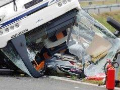 Incidente pullman auto