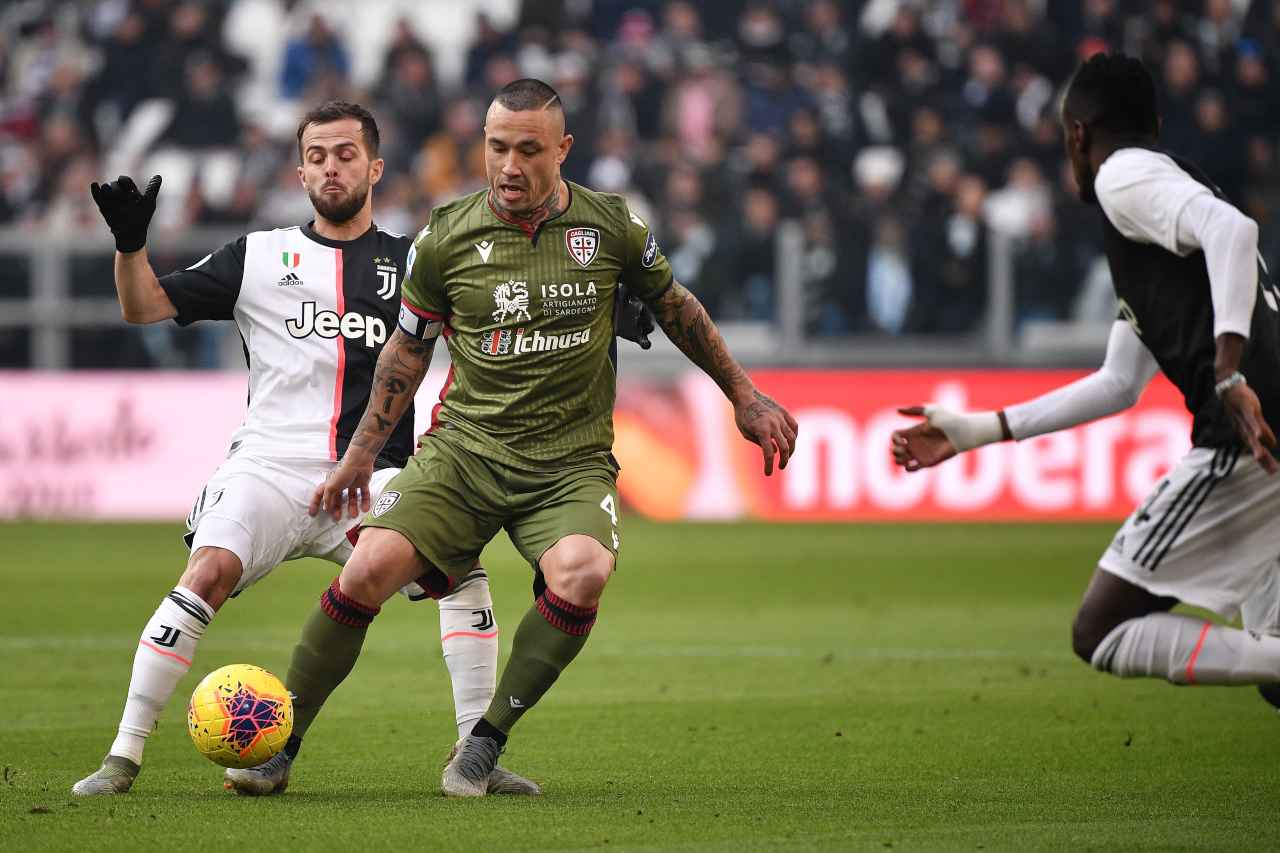 Juventus-Cagliari streaming gratis