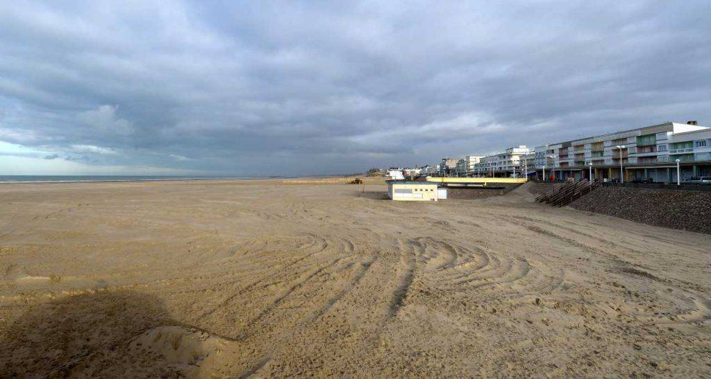 Marocco morta spiaggia