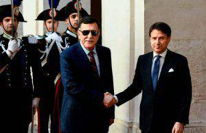 Premier Conte Libia