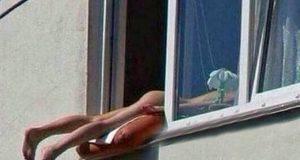 Sole nuda finestra tamponamento