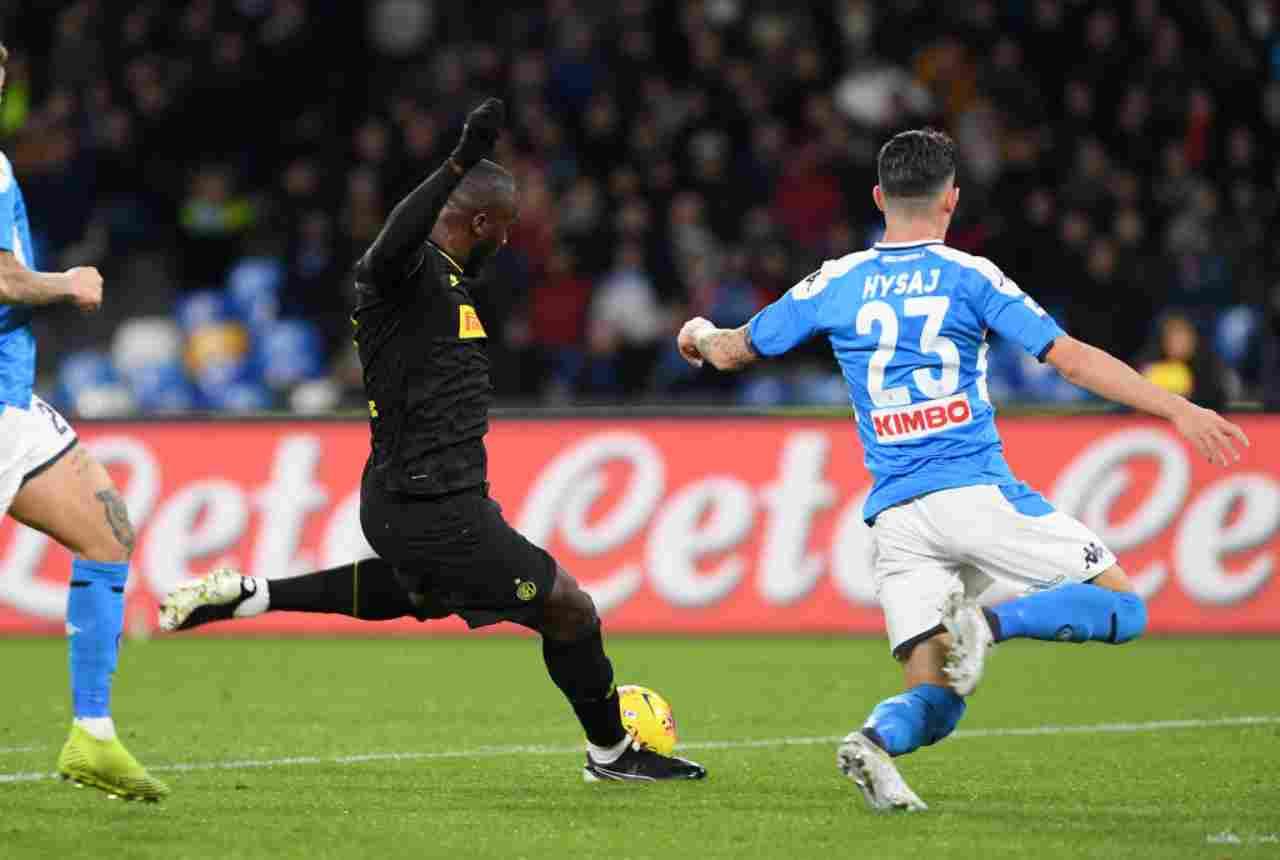 Napoli-Inter, Serie A