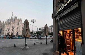 Duomo Milano locale chiuso