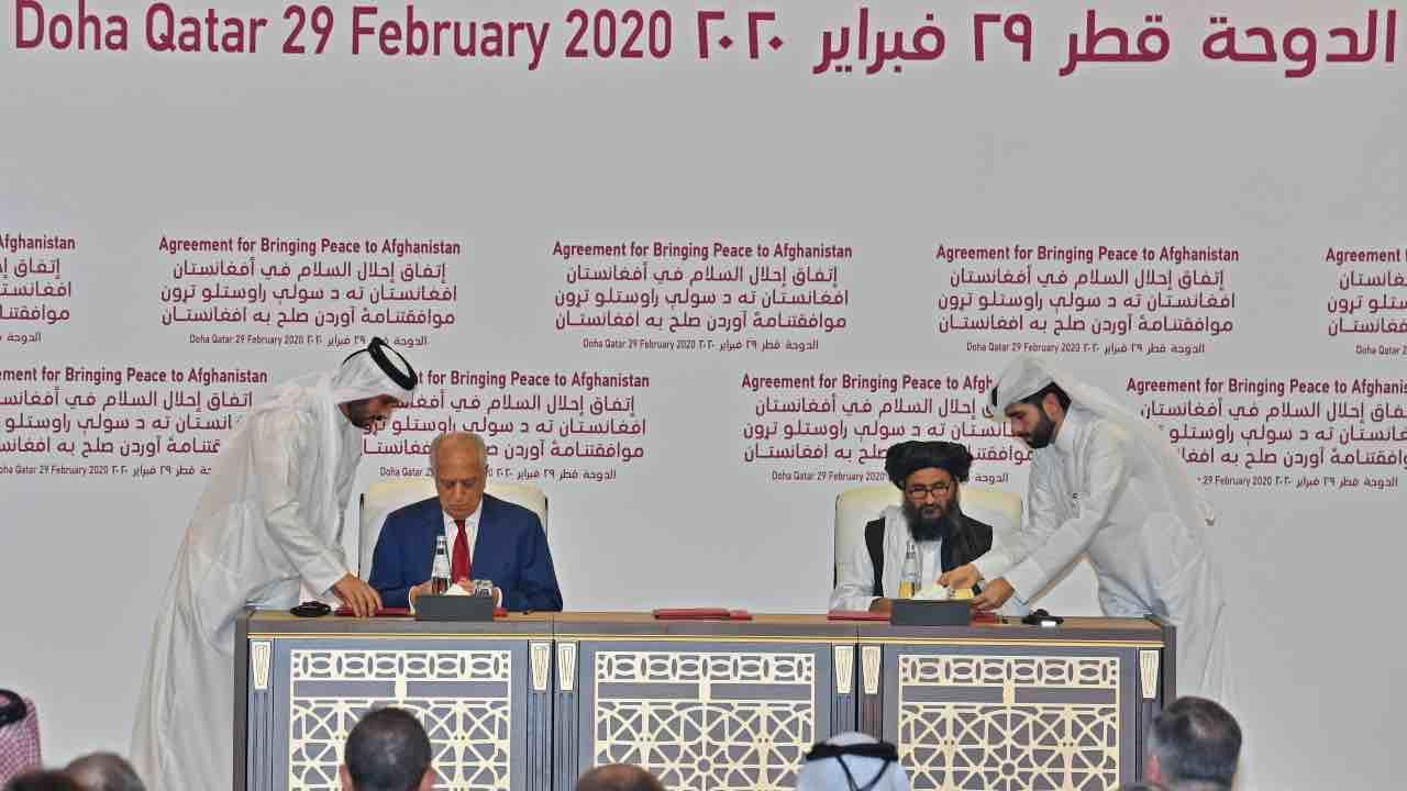 Usa e Talebani accordo di pace Doha