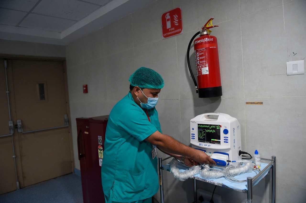 Coronavirus attrezzature mediche