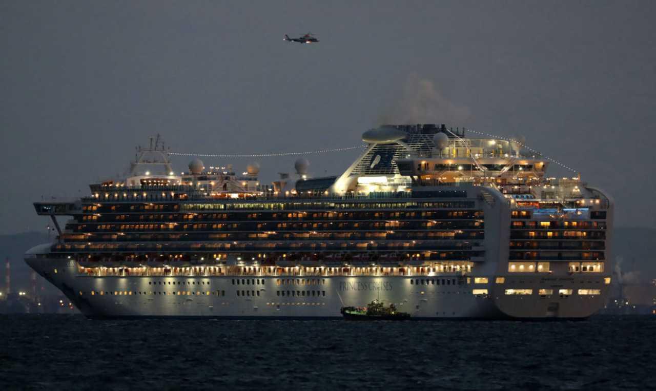 Coronavirus su una nave da crociera