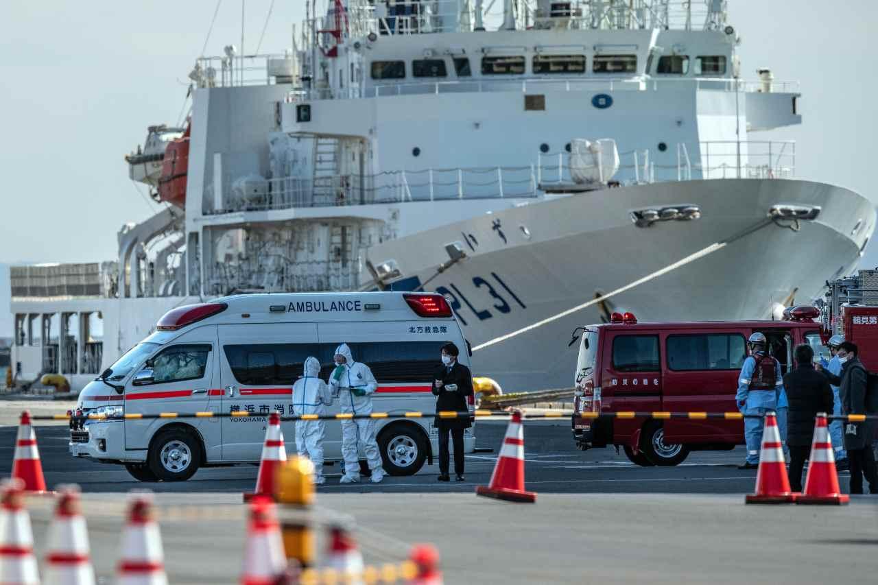 Giappone nave in quarantena