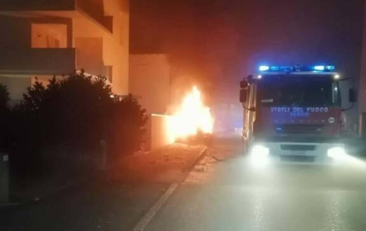 Padova incendio