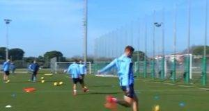 Milinkovic-Savic gol allenamento