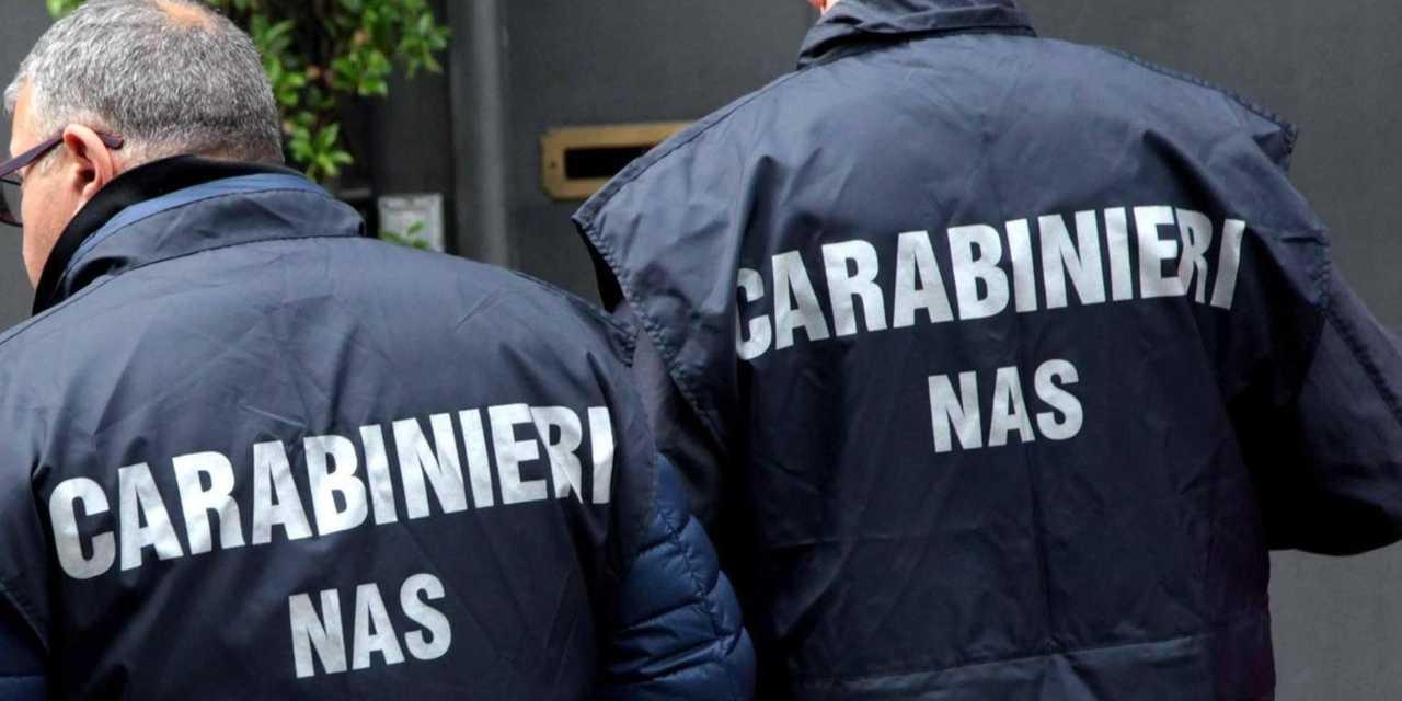 Nas Carabinieri cibo pericoloso