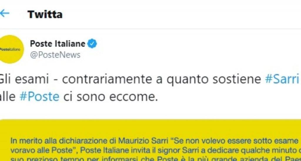 Poste Italiane Sarri