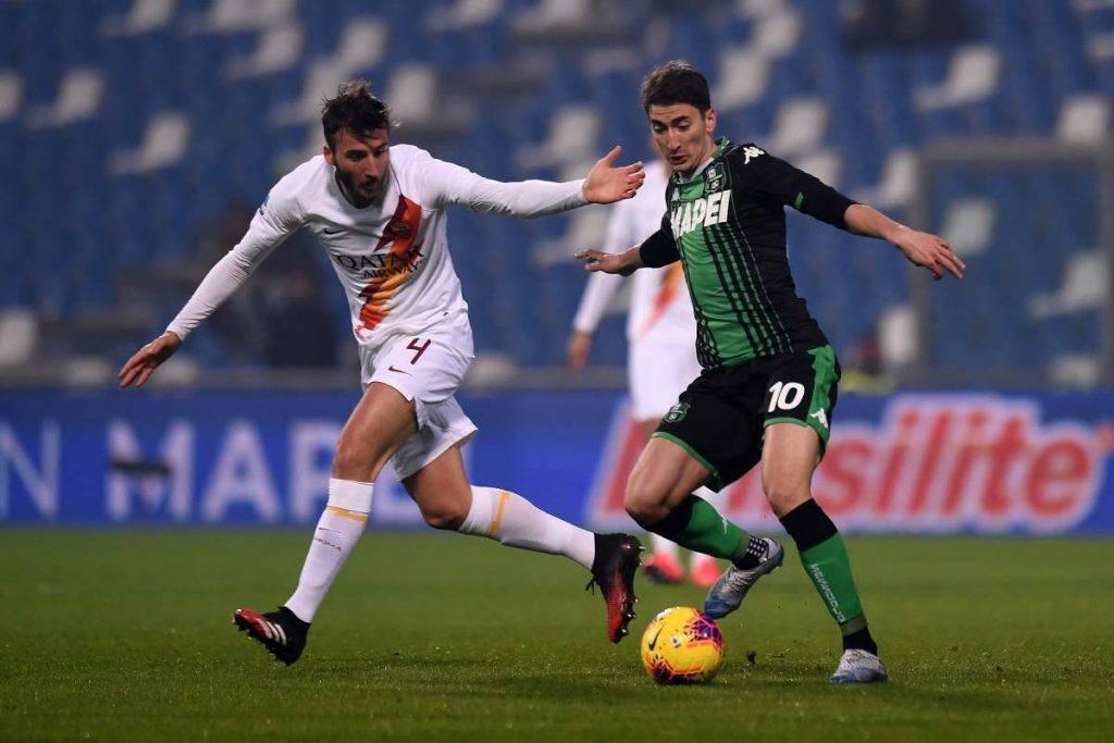 Sassuolo-Roma highlights