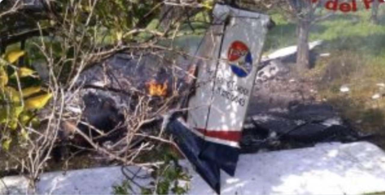 siracusa aereo morti