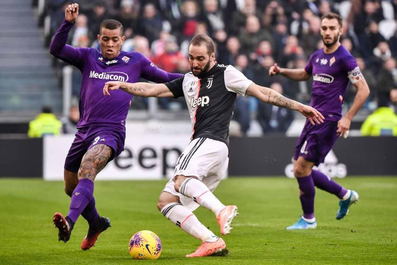 Juventus-Fiorentina, Serie A