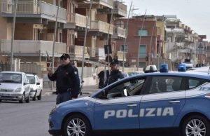 polizia moto senza casco