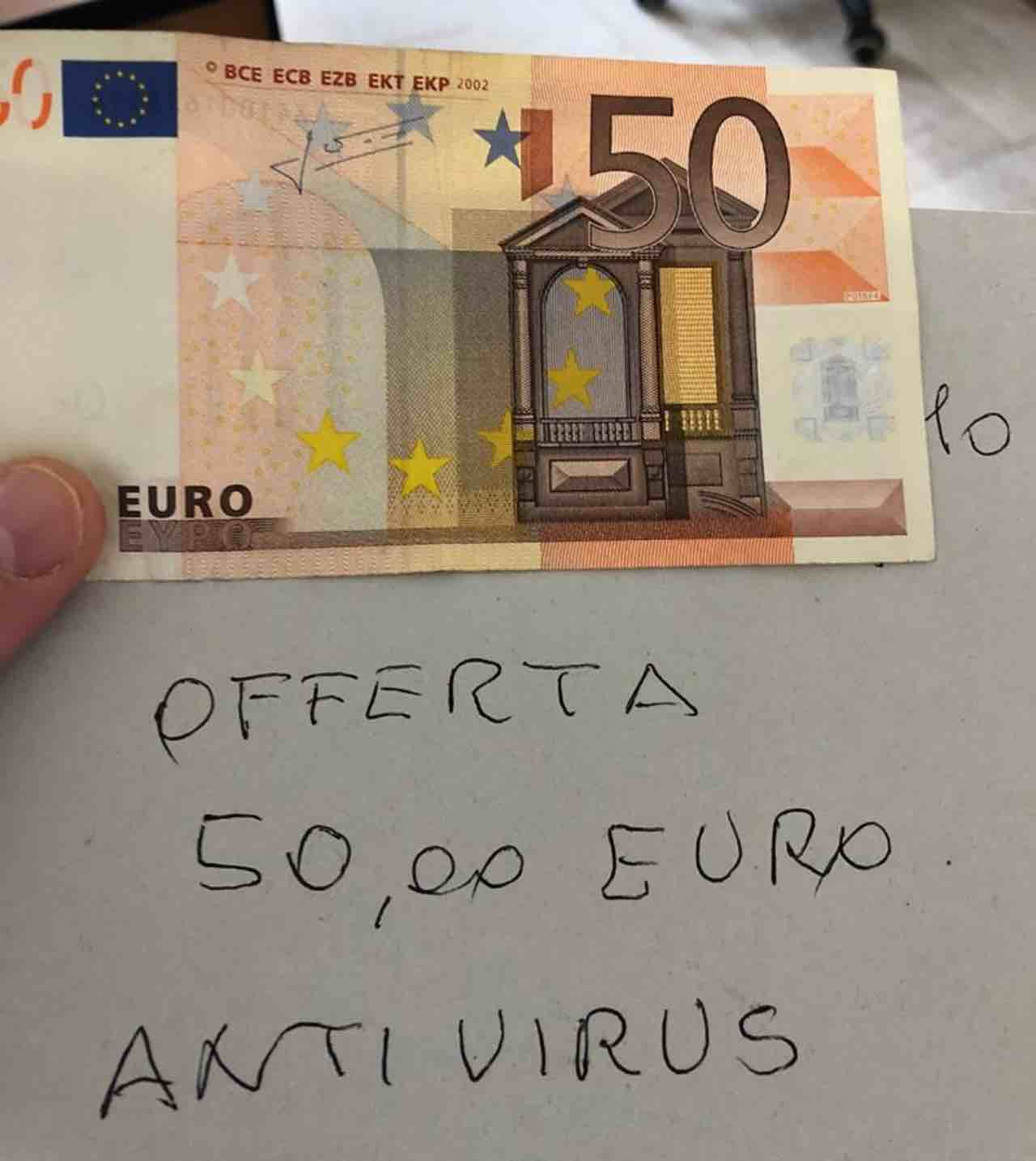 coronavirus anziano gesto pensiero gratitudine ospedale cremona