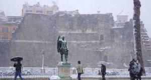 meteo neve ghiaccio italia