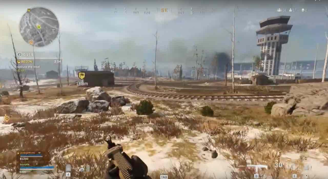 call of duty warzone metropolitana