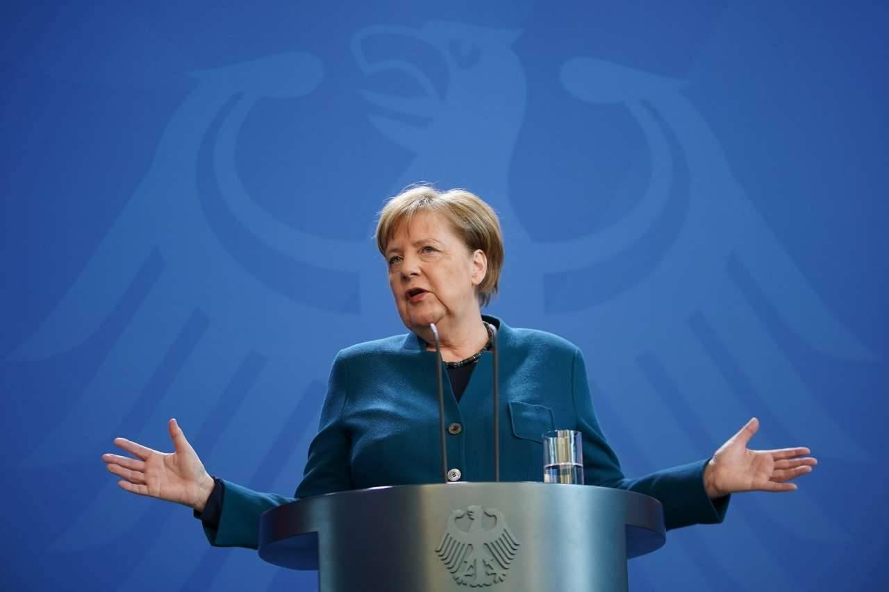 Angela Merkel, Coronavirus Germania