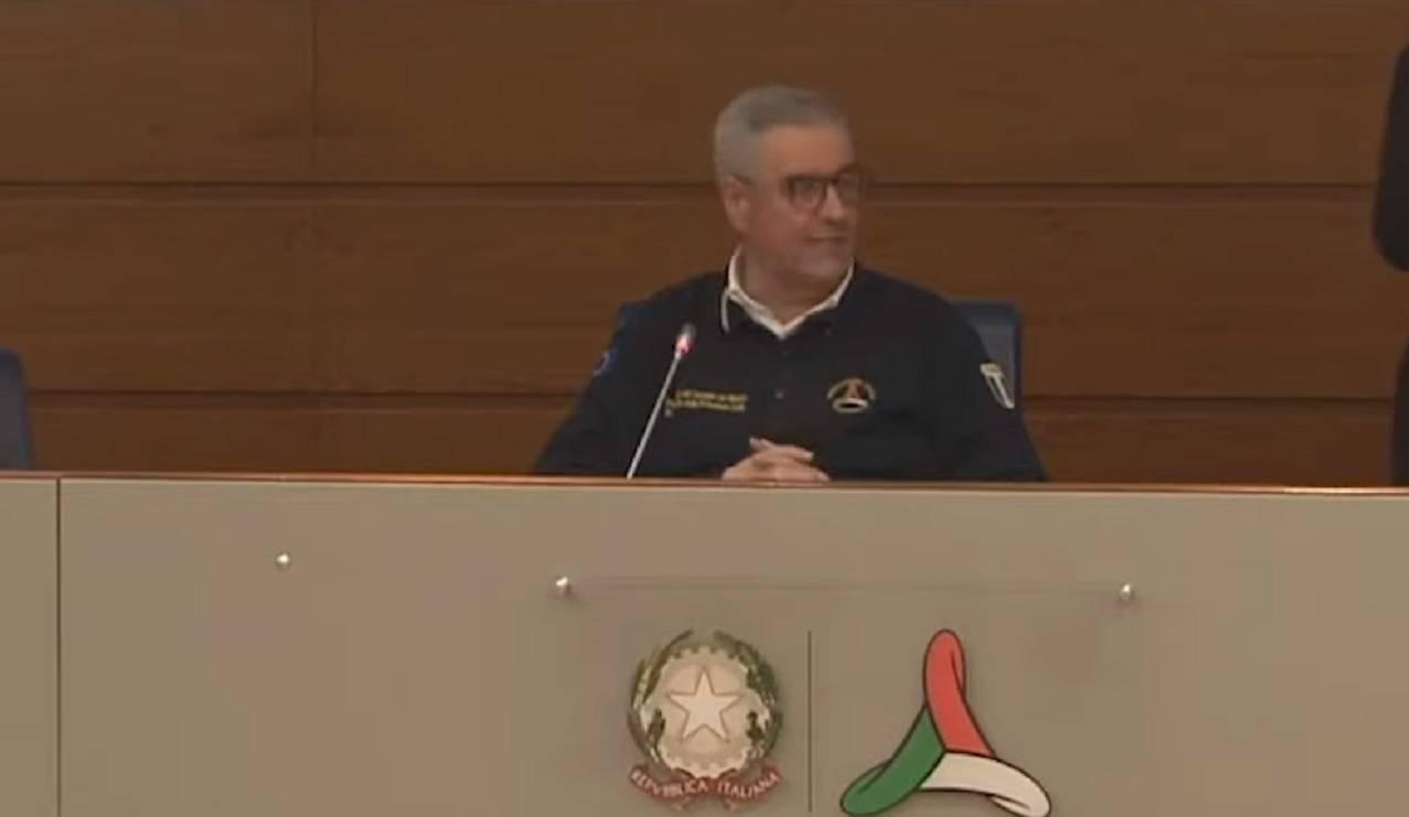 Angelo Borrelli conferenza stampa coronavirus