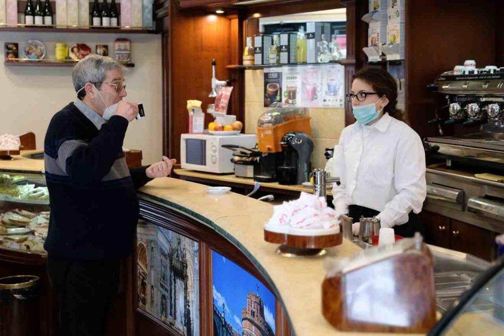 Bar Coronavirus Italia