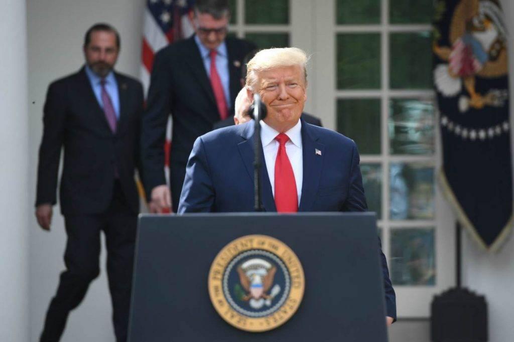 Donald Trump emergenza Coronavirus