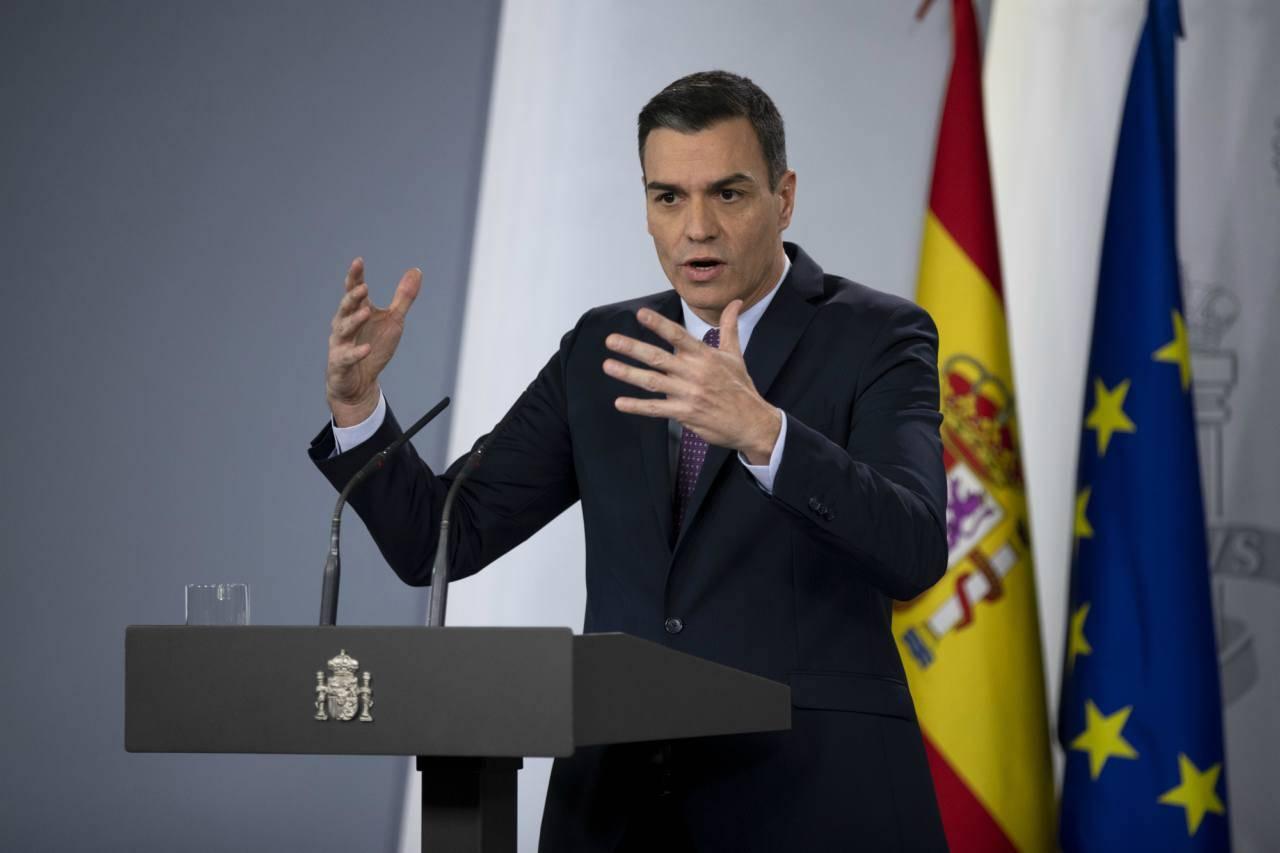 Pedro Sanchez Spagna Coronavirus