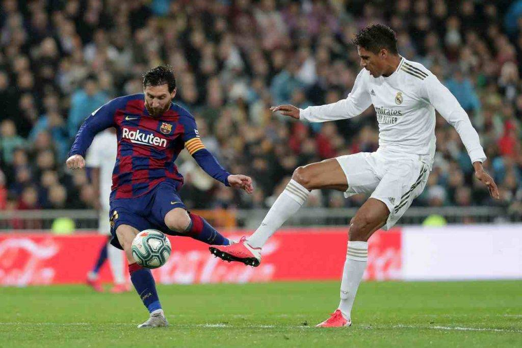 Leo Messi Barcellona Real Madrid