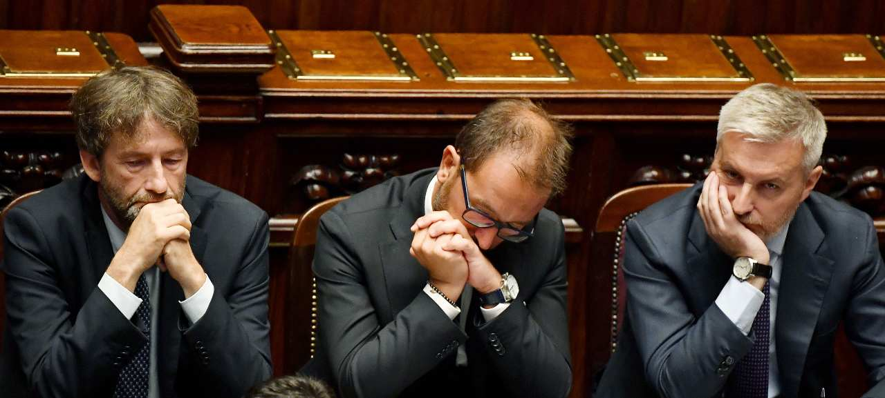 Lorenzo Guerini in Parlamento